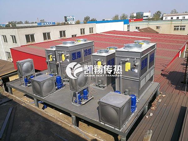 蒸发式冷凝器清洗-蒸发冷凝器清洗、维护