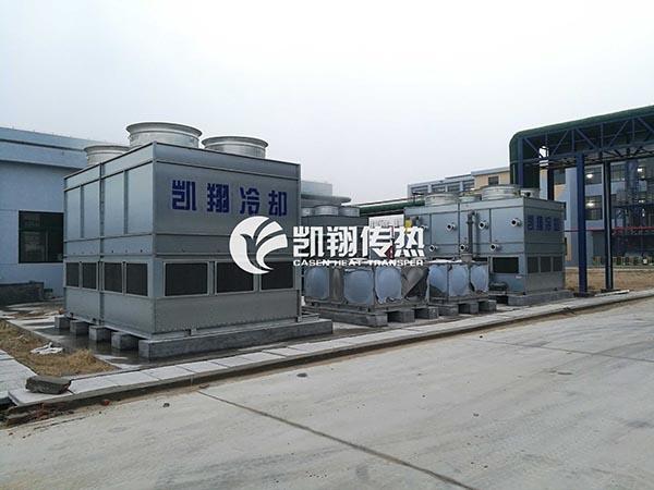 环境温度对闭式冷却塔的影响以及冷却效率